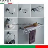 浴室の建物のためにセットされる安いクロム染料で染められた真鍮の浴室のアクセサリ