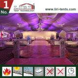 Décoration de doublure et rideaux pour fête de mariage