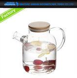 Het Drinken van het Koude Water van de Theepot van het Glas van het Glaswerk van de keuken Ketel