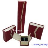 Коробка самых дешевых ювелирных изделий подарка Cardbard упаковывая с изготовленный на заказ логосом