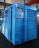 Compresseur d'air rotatoire jumeau antipluie de vis d'utilisation extérieure