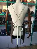 Kundenspezifischer UnisexBrown wuchs Segeltuch-Arbeits-Schutzblech mit Kreuz-Zurück Baumwollmaterial-Brücken ein