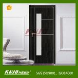 Wasserdicht WPC lamellierter Eintrag-Tür für Toilette (KMB-07) Feuer-Widerstehen