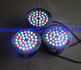 Indicatore luminoso subacqueo impermeabile del raggruppamento degli indicatori luminosi/36W RGB LED di migliore vendita P68 RGB 36W LED di Yaye 18 con la garanzia 2 anni