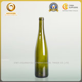 750ml Rhein grüne Wein-Glasflaschen-lange Stutzen-Rheinwein-Form (527)