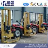 取付けられるHf100tのトラクター機械を積む