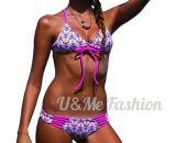卸し売り高品質によって模造されるWomemの性のビキニの水着