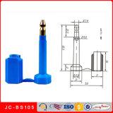 Laser gedruckte Behälter-Verschluss-Schrauben-Dichtung der Seriennummer-Jc-BS105