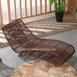 Стул пляжа кровати Sun мебели плавательного бассеина патио цены горячего сбывания дешевый (T526)