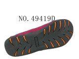 No. 49419 quatro sapatas conservadas em estoque ocasionais das mulheres da cor