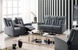 De la tela del sofá sofá colorido 3seater de la tela del sofá de la parte posterior arriba