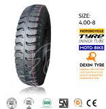 荷車引きのためのTuk Tuk三輪車のタイヤのタイヤは4.00-8にタイヤをつける