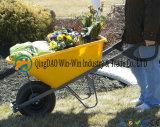 Wheelbarrow poli do pé 6 cúbico