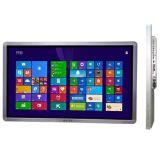 LCD 위원회 디지털 표시 장치 잘 고정된 Touchscreen 모니터 간이 건축물을 광고하는 50 인치