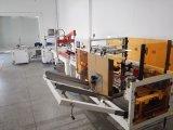 カスタマイズされるカートンのサイズのPLCが付いている自動ケースの建設者を形作る