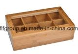 عالة [هيغقوليتي] طبيعيّ خشبيّة شاي صندوق