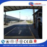 Estacionamento, segurança do carro da placa que verific sob o sistema de inspeção do veículo