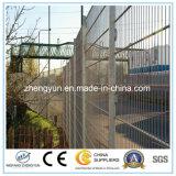 Загородка металла PVC покрынная порошком гальванизированная