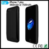 """pack batterie de sauvegarde de pouvoir portatif du chargeur 7500mAh pour l'iPhone 7 plus """" couverture de caisse de batterie 5.5"""
