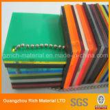 Scheda acrilica di Persper/strato acrilico di colore PMMA per stampa