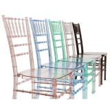 家具のゆとりのパソコンの樹脂のChiavariの結婚の現代椅子