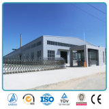 Estructura de acero prefabricada industrial barata de la fabricación para el almacén en China