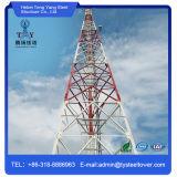 Galvanisierter Winkel-Stahlgitter-Telekommunikations-Aufsatz