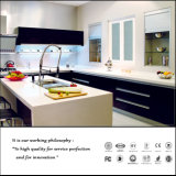 Moderner hoher glatter Küche-UVschrank (ZHA14)