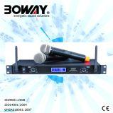 (Bw 1668) 2개의 채널 통신로 UHF 무선 마이크 또는 Microfono Inalambrico