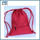 Saco feito sob encomenda da trouxa da forma do saco de Drawstring