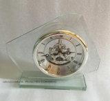 Orologio da tavolino di vetro di nuova alta qualità di disegno per la decorazione domestica K8080s