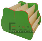 Le mobilier amovible personnalisé par usine badine la bibliothèque Bookself avec des roues
