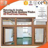 알루미늄 합금 차일 Windows는 미국 기계설비, 만족한 여닫이 창 Windows를 사용하여 Windows를 외부 진동한다