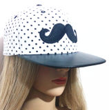Pode ser personalizado, ostenta tampões relativos à promoção bordou chapéus ajustáveis do camionista dos tampões do tampão da esfera rápida
