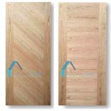 EPのクルミおよび自然なクルミのベニヤが付いているHDFのドアの皮