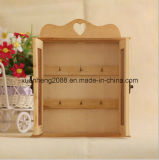 Contenitore di regali di legno dei monili dei Due-Portelli