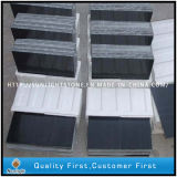 China Black Wooden Vein Mármore Azulejos para Cozinha / Banheiro Decorativo