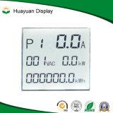 製造業者LCDのモノクロディジットの英数字の透過表示