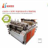 Chzd-C duplo - do t-shirt duplo da movimentação da canaleta máquina deFatura