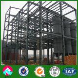 Edificios prefabricados de varios pisos del marco de acero del suelo