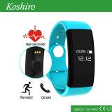 Pulsera de reloj elegante del ritmo cardíaco de la salud de Bluetooth