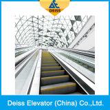 Tração de Vvvf que conduz a escada rolante automática do transporte do passageiro público de 35 graus