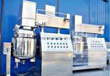 Équipement d'homogénéisation d'émulsifiant de vide