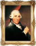 Haydn, Painting, Oil Handmade Painting의 초상화