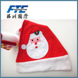 Cheap Fleece Promotion Christmas Festival Santa Hat