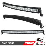 CREE elevado de Intensity 10W fora do diodo emissor de luz Light Bar para o Pesado-dever, SUV Military de Road Curved, Truck, Trailer