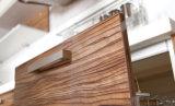 2017 gabinetes de cozinha UV populares do revestimento do estilo o mais novo (zx-071)