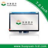 """7 """" Lvds를 가진 TFT LCD 디스플레이 1024*600 접촉 스크린"""