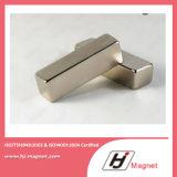 Ímã forte do bloco do Neodymium N35-52 do poder superior manufaturado pela linha da alta qualidade