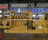 塵の気化の生物量力エンジン200kw Syngasの発電機を見た